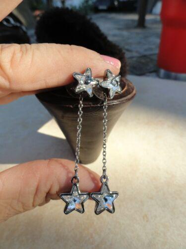 Signed Swarovski Crystal Star Dangle Interchangea… - image 1
