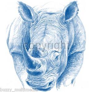 Blue-Rhinoceros-Rhino-Shirt-feng-shui-protection-Small-5X