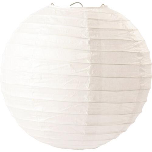 1 XXL Ø 20 cm Papierlaterne Dekorieren Kinder Laternen basteln Lampion NEU uni