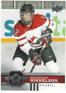 MEAGHAN-MIKKELSON-2017-18-Upper-Deck-Women-039-s-Team-Canada-67-NM-MT