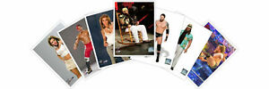 Rare-WWE-Offical-Photofile-8x10-promos-Many-different-available-photo-file