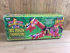 POWER RANGERS RED DRAGON THUNDERZORD BOXED COMPLETE VINTAGE 1990's TOY