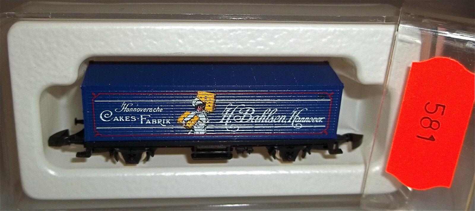 Sarotti blu, partire 87715 container Carrello   8615 Traccia Z 1/220 * 222 *