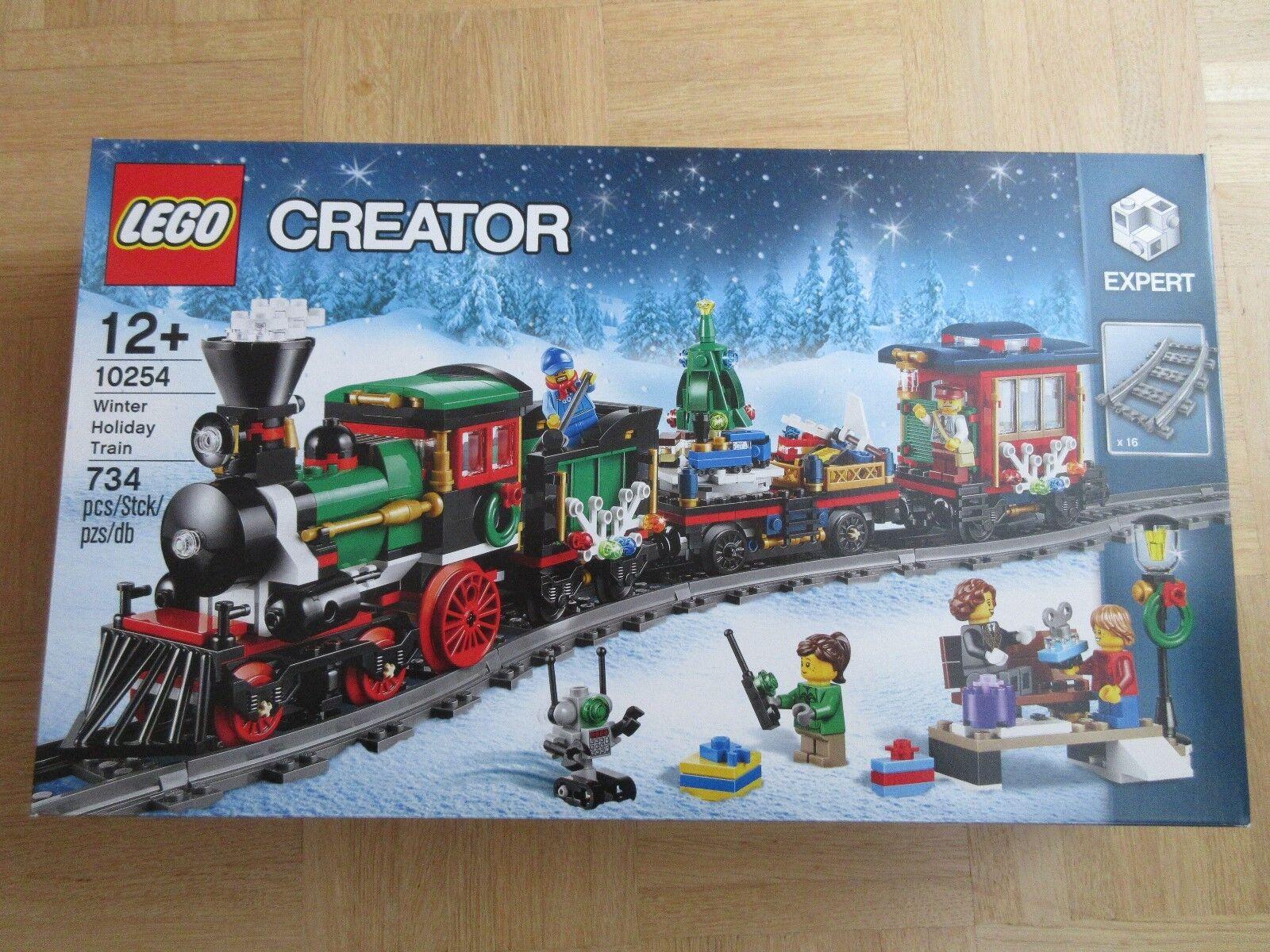 LEGO Creator Festlicher Weihnachtszug (10254) NEU