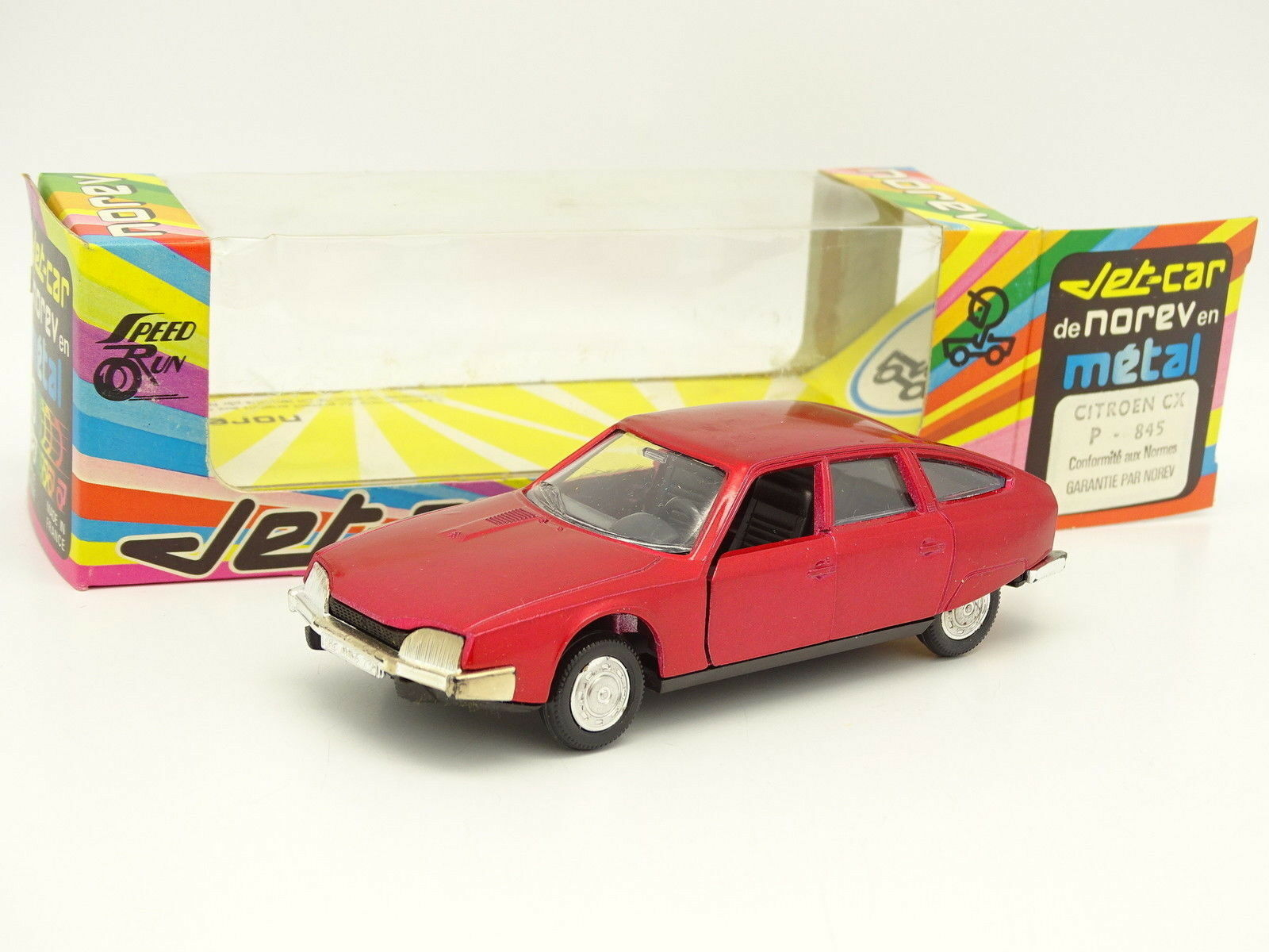 Norev Jet Car 1 43 - Citroen Cx Rot Nr °845