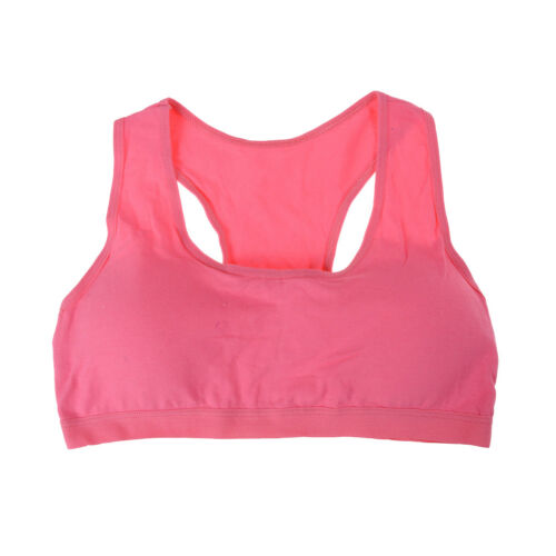 Baby Girls Cotton Bras Young Girls Underwear For Sport Training Puberty Bras Fad