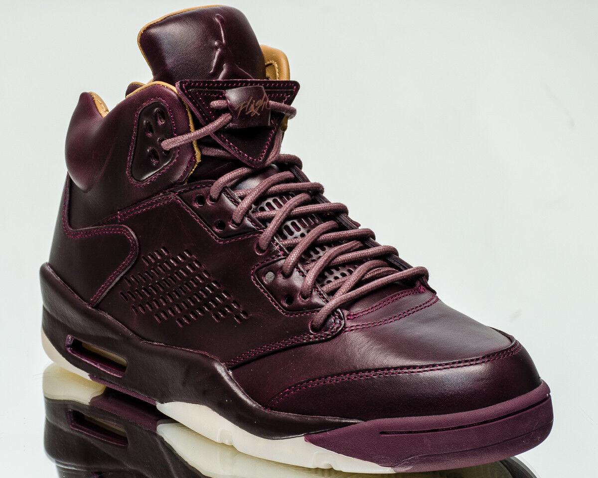 Luft Jordan 5 Retro Premium Bordeaux Bordeaux Bordeaux AJ5 V Herren Neu Bordeaux Segel 881432-612  85ee3b