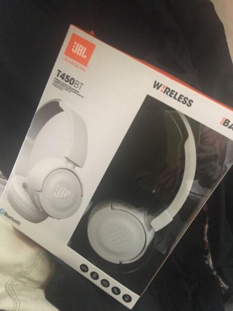 8735b0dc69b JBL Pure Bass Sound Bluetooth T450BT Wireless On-ear Headphones ...
