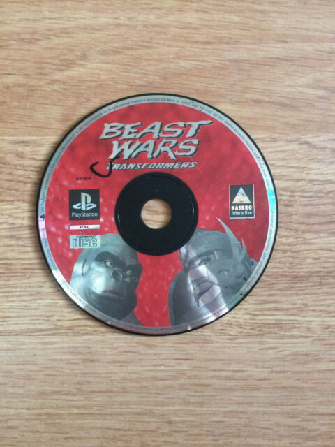 Beast Wars: Transformers for PS1 *Disc Only*