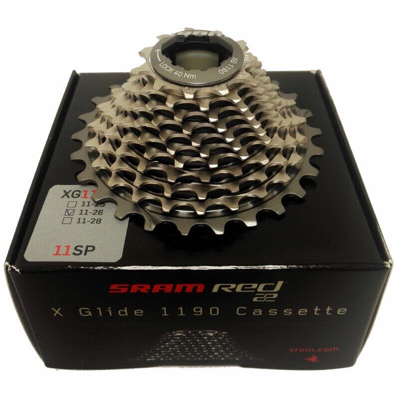 SRAM rosso 22 XG 1190 CASSETTA 11 velocità  1126  RRP