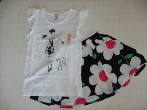 NWT Gymboree DAISY PARK Size  6 7 8 10 12 Daisy Girl Tee /& Daisy Print Skirt