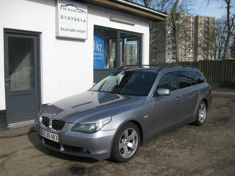 BMW 525d 2,5 Touring Steptr. 5d - 85.000 kr.