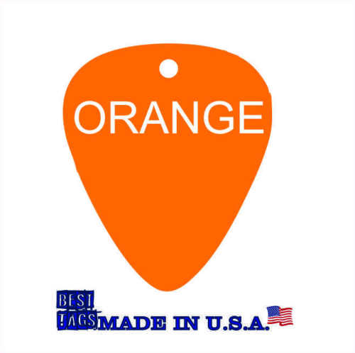 5 FIVE Custom Engraved Aluminum Guitar Picks MADE IN USA for $9.95 Shipped 5