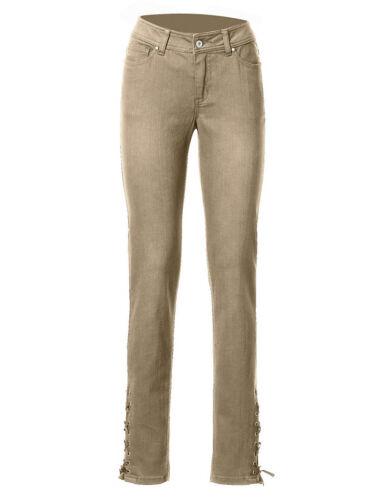 NUOVO!! Kp 49,90 € SALE/%/%/% Heine sabbia JEANS tubolari-Pantaloni