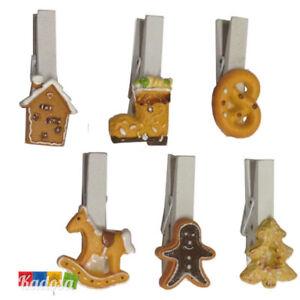 Set-5-Mollette-Natalizie-Decorazione-Resina-Biscotto-Chiudi-Pacco-Natale-Clip