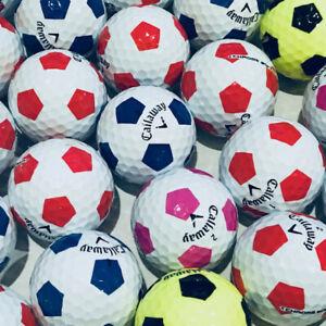 25-CALLAWAY-CHROME-Soft-truvis-Lake-Golf-Balles-Perle-AAA-Ace-Golf-Balls
