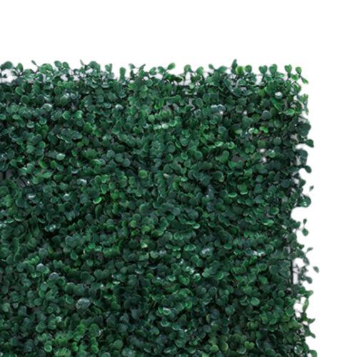Artificial Hedge Plant Greenery Wall Panels for Wedding Venue Pillar Road Decor