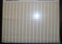 Ikea Alvine Ljuv Bed Sheet Set 3 Pcs Fitted Flat Pillowcase White Yellow Twin