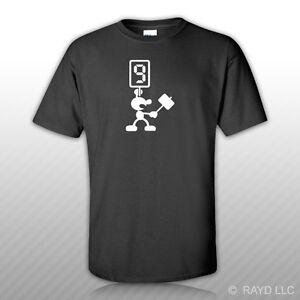 Mr-Game-amp-Watch-JudgeT-Shirt-Tee-Shirt-Gildan-S-M-L-XL-2XL-3XL-Mario-Bros