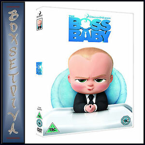 The Boss Baby Dreamworks Animation Brand New Dvd Ebay