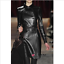 Womens-Double-breasted-Leather-Belt-Trench-Coat-Slim-Jacket-Long-Parkas-Outwear thumbnail 13