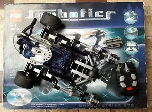 Lego 3808 Spybotics Shadowstrike no Technnic C-4 no Star Wars City Technic