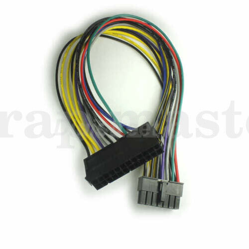 24-Pins to 14-Pins IBM Lenovo PC PSU Main Power Supply Adapter Cable Lead H50-50