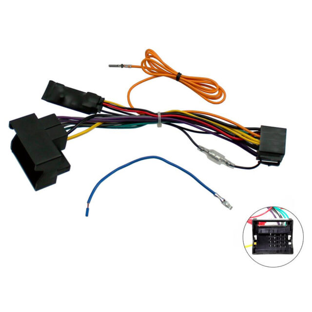 AUDI A3 8p A4 B7 TT Canbus Car Stereo ISO Wiring Harness Ignition Feed Audi A Stereo Wiring Harness on mercury mountaineer stereo, bmw 3 series stereo, audi a7 stereo, cadillac escalade stereo, hyundai accent stereo, saab 9-5 stereo, volkswagen touareg stereo, ford explorer sport trac stereo, chevrolet malibu stereo, nissan juke stereo, lexus rx stereo, audi b7 stereo, land rover discovery stereo, mitsubishi galant stereo, volvo 850 stereo, audi a4 stereo, mazda 5 stereo, acura rsx stereo, lincoln mkz stereo, audi a5 stereo,