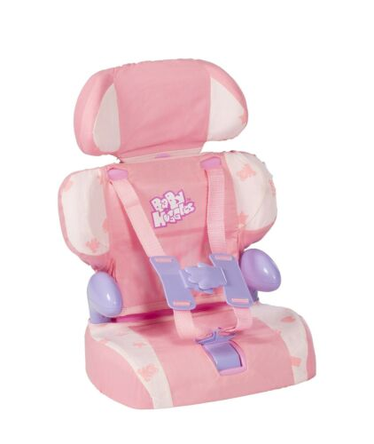 Bring... Doll Car Seat and Booster with Seatbelt for Dolls and Stuffed Animals