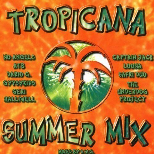 Tropicana Summer Mix (by S.W.G., 2001) [2 CD] No Angels, Westlife, Loona, Fra...