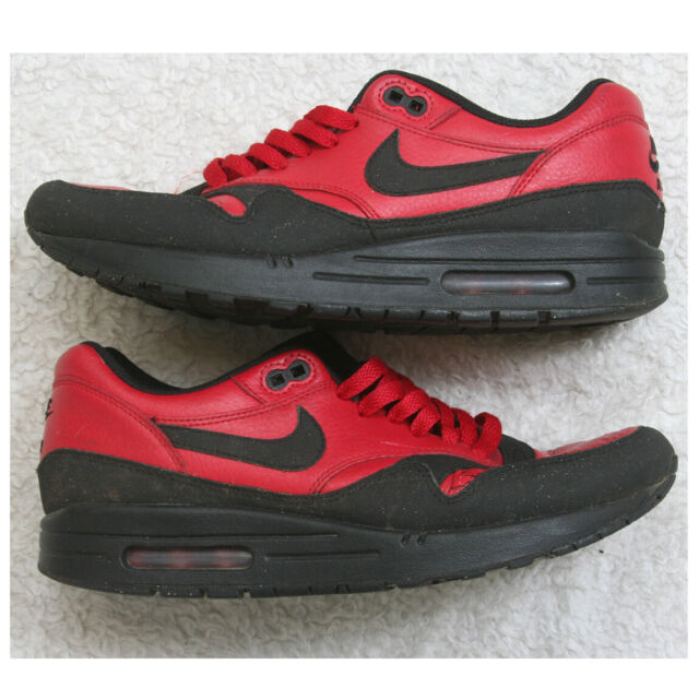 Size 8 - Nike Air Max 1 Premium Gym Red Black for sale online   eBay