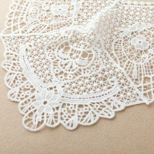 Women Lace Cape Bolero Blouse Hollow Out Shrug Bridal Wedding White Shawl SHP