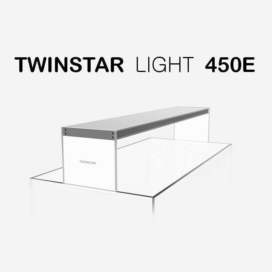 TWINSTAR Light 450E RGB-W Aquarium LED 45cm Full Spectrum for Plants Fish 450