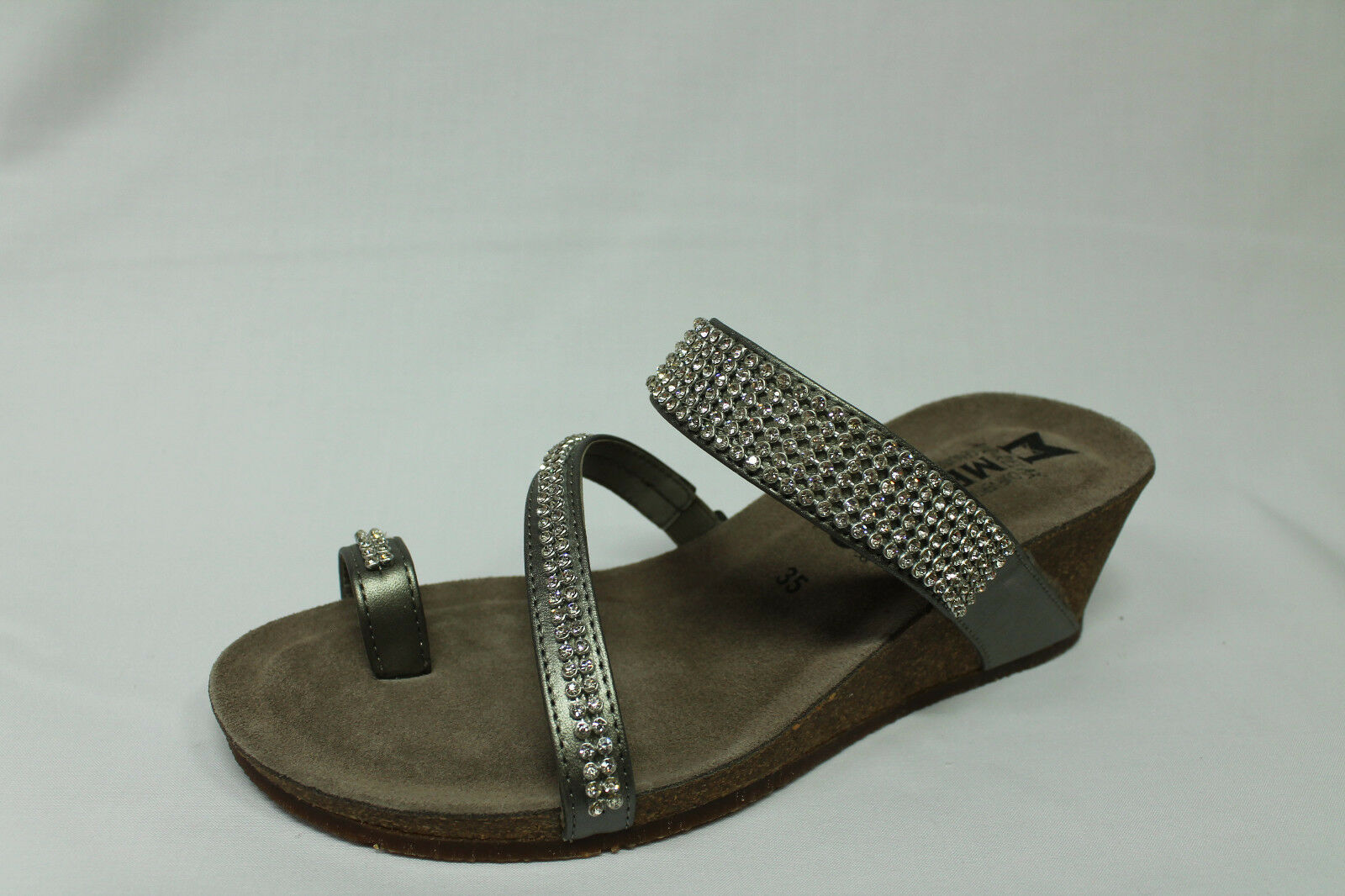 Ciabatte sandali infradito con zeppa Mephisto Milly plata listino listino listino - 20% 504b02
