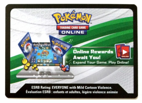 1x Pokemon 2015 XY Latios EX Powers Beyond Tin TCG Online Code Card