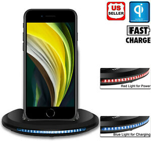 For Apple iPhone SE 2020 /XE/SE 2 Qi Wireless Fast Charger ...