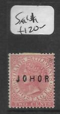 MALAYA JOHORE (P0501B) QV 2C  SG11  MOG