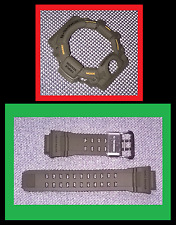 GENUINE CASIO G-SHOCK RANGEMAN GW9400-3 GREEN STRAP BAND & BEZEL SHELL COVER