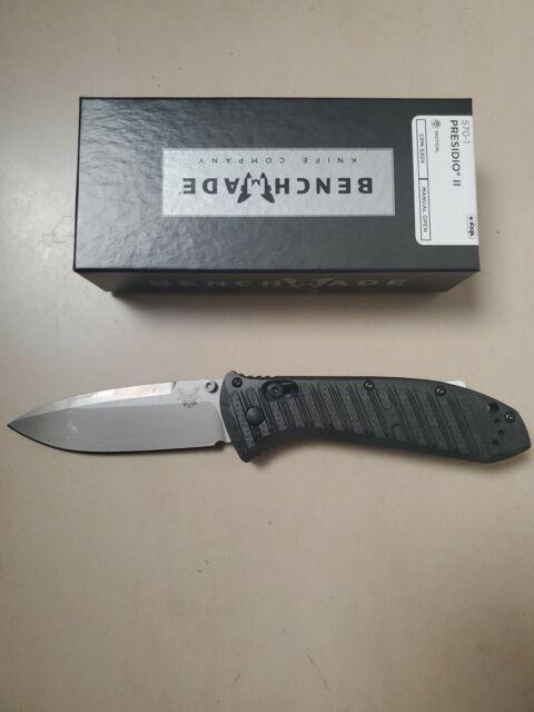 Benchmade 570-1 Presidio II New in the Box