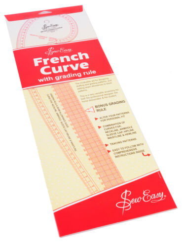 Sew Easy Metric French Curve Ruler NL4199