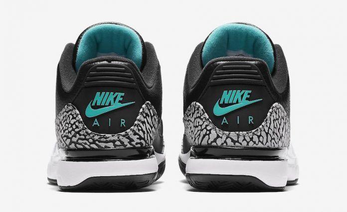 Nike Clear Zoom Vapor Air Jordan 3 RF Atmos Black Clear Nike Jade Size 15. 709998-031 99b148