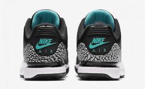 f1b46621dee208 Nike Zoom Vapor Air Jordan 3 RF Atmos Black Clear Jade Size 13 ...