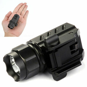 Original-Trustfire-G01-XP-G-R5-LED-Flashlight-Torch-210LM-for-Gun-Pistol-Handgun