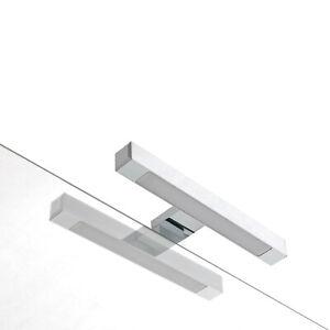 Lampada Da Bagno Per Specchio.Lampada Da Bagno Faretto Luce A Led Per Bordo Specchio Design 30cm