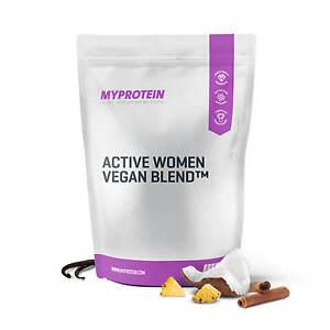 Active-Women-Vegan-Protein-Diaet-Reis-Erbsen-BCAA-Multivitamin-MyProtein
