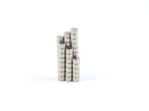 Neodym Magnete 3 x 1.5 mm Supermagnete hohe Haftkraft Scheibenmagnet N35 magnets