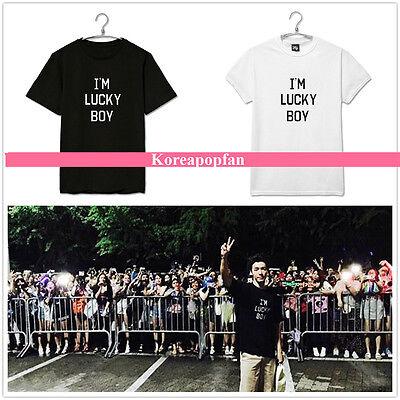 SUPERJUNIOR SJ SUPER JUNIOR DONGHAE COTTON100% T-shirt LUCKYBOY Kpop TEE