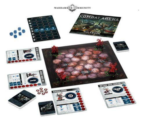 Warhammer 40k Combat Arena Board Game SEALED Games Workshop Crusader Inquisition