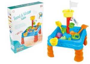 Sand-and-water-Juego-Mesa-Ninos-de-Jardin-amp-12-Arenero-Accesorio-Toys-313-Azul