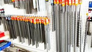 SDS-PLUS and SDS-MAX Drill Bits (Different sizes 6 to 38 Long Canada Preview